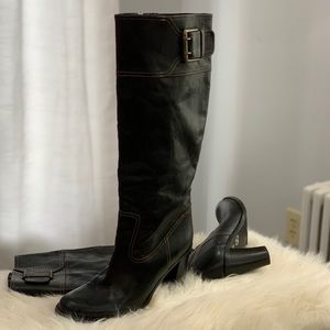 Eddie Bauer genuine leather boots size 8.5M
